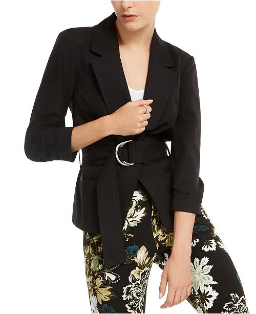 INC International Concepts INC Belted Jacket, Created for Macy's