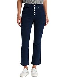 Bridgette High Rise Flare Capri Jeans