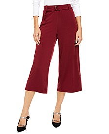 D-Ring Culotte Pants, Created for Macy's