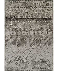 "CLOSEOUT! Logan Lo8 Pewter 9'6"" x 13'2"" Area Rugs"
