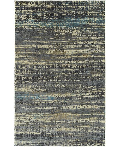 "D Style Monte Mon7 Pumice 7'10"" x 10'7"" Area Rugs"