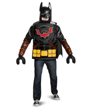 Men's Lego Movie 2: Batman Adult Costume