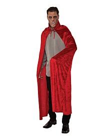 BuySeasons Men's Red Velvet Dracula Cape Adult Costume