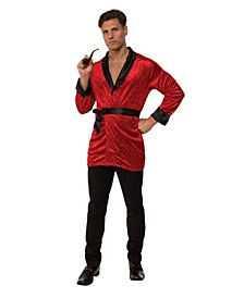 Men's Smoking Jacket Adult Costume