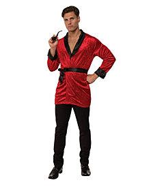BuySeasons Men's Smoking Jacket Adult Costume