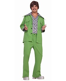 BuySeasons Men's Leisure Suit Green Adult Costume