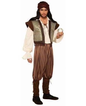 Men's Fortune Teller Woodland Fortune Teller Adult Costume