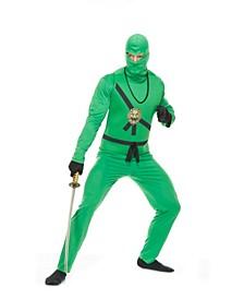Men's Ninja Avengers Series I Adult Costume Jade, Toy Sword Not Included