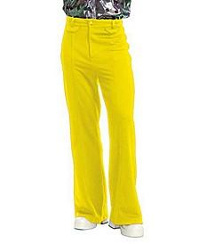 Men's Disco Pants Yellow