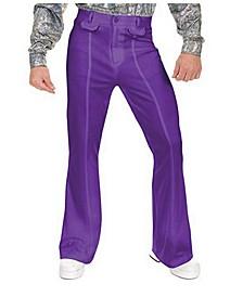 Men's Disco Pants Purple