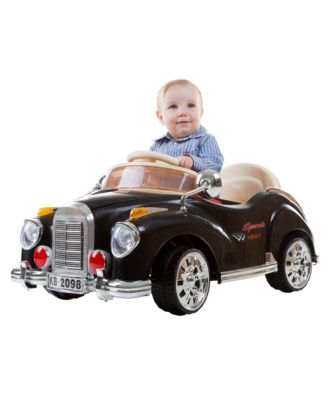 Lil' Rider Battery Powered Classic Car Coupe With Remote Control and Sound