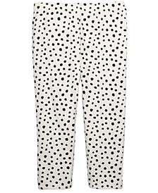 Baby Girls Animal-Print Leggings, Created For Macy's