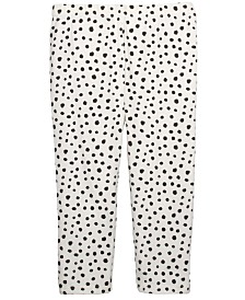 First Impressions Baby Girls Animal-Print Leggings, Created For Macy's