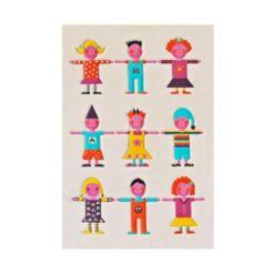 "Ivi Kids Multi-color Soft Nursery Rug - 59""L x 39""W"