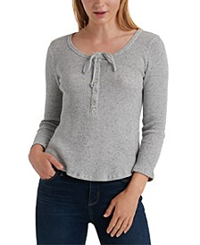 3/4-Sleeve Thermal Top