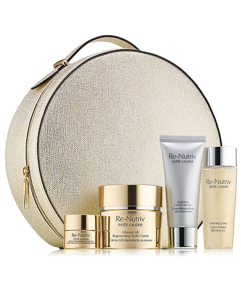 Estee Lauder The Secret of Infinite Beauty Ultimate Lift Regenerating Youth Collection for Face, 5-Pc. Set.