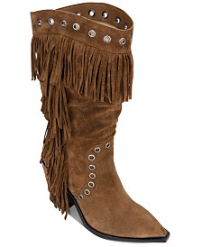 Kenneth Cole New York Women's West Side Fringe Boots