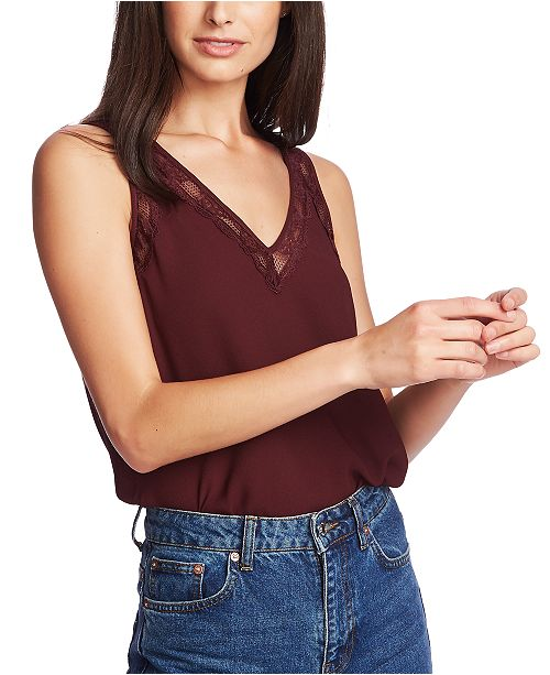 1.STATE Lace-Trimmed Camisole