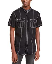 I.N.C Men's Stanley Short Sleeve Shirt, Created For Macy's