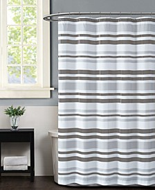 Curtis Stripe Shower Curtain
