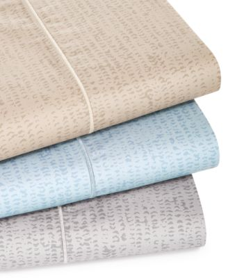 Linear Texture King Sheet Set, Created for Macy's
