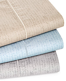 Hotel Collection Linear Texture Sheet Set Collection, Created for Macy's