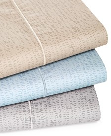 Hotel Collection Linear Texture Sheet Set Collection
