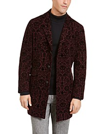 INC Men's Flocked Ornamental Topcoat, Created For Macy's