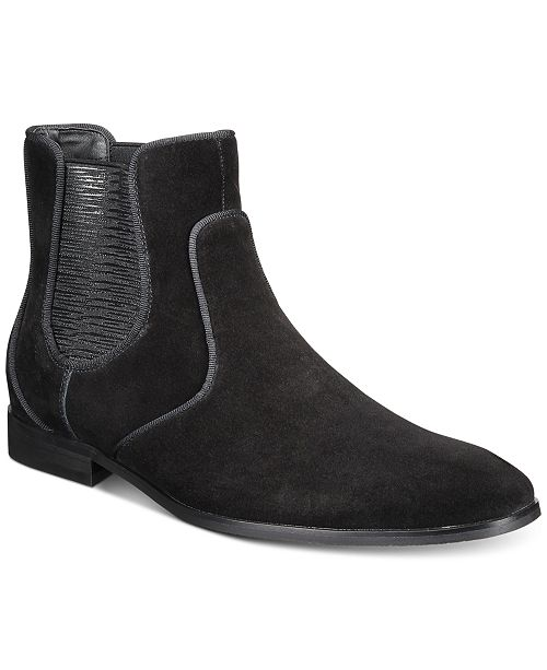 INC International Concepts INC Men's Ziggy Chelsea Boots, Created For Macy's