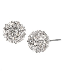 BCBGeneration Pave Ball Stud Earrings