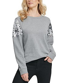 Sequined Sweatshirt