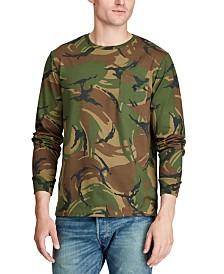 Polo Ralph Lauren Men's Jersey Cotton Camo Long Sleeve T-Shirt