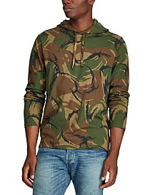 Polo Ralph Lauren Men's Hooded Camo T-Shirt