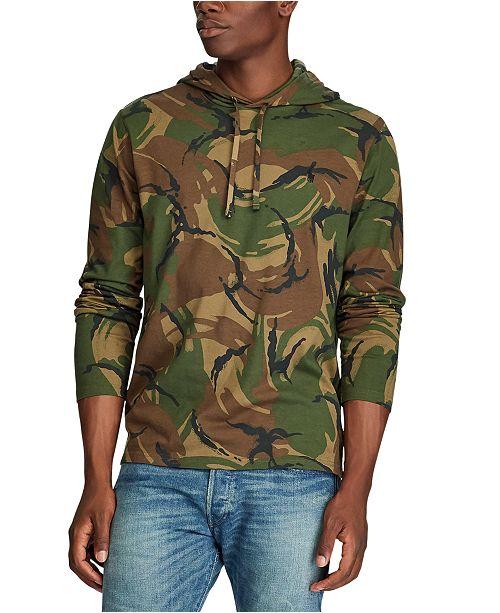 Polo Ralph Lauren Men's Hooded Camo T-Shirt