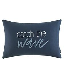 "Nautica Catch The Wave 14"" X 26"" Throw Pillow"