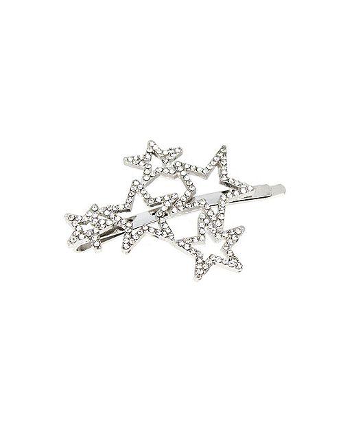 Soho Style Crystal Star Cluster Bobby Pin