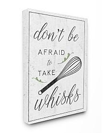 "Stupell Industries Kitchen Take Whisks! Canvas Wall Art, 24"" x 30"""