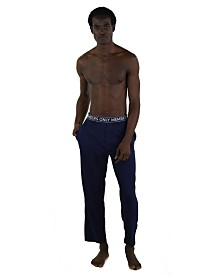 Members Only Jersey Knit Pant with Logo Elastic