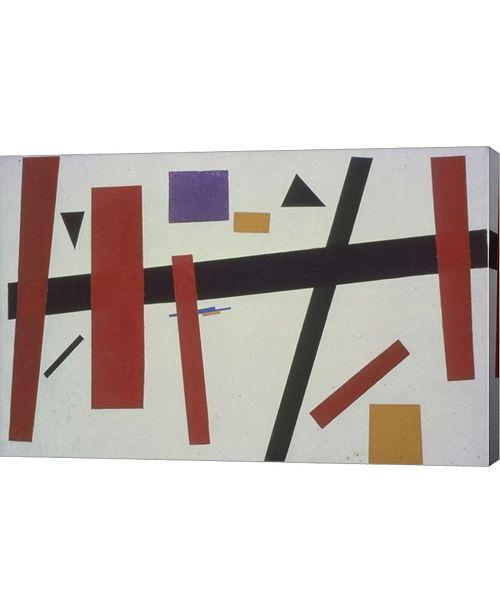 "Metaverse Suprematism No 50 by Kazimir Malevich Canvas Art, 30.5"" x 20"""
