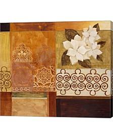 "Metaverse Gardenia 1 by Pablo Esteban Canvas Art, 27.25"" x 24"""