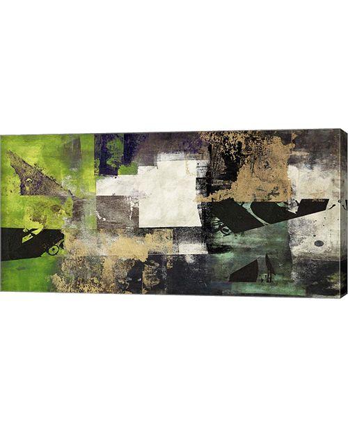 "Metaverse Emerald by Alessio Aprile Canvas Art, 32"" x 16"""