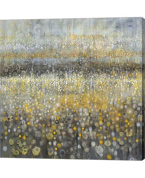 "Metaverse Rain Abstract II by Danhui Nai Canvas Art, 27.5"" x 28"""