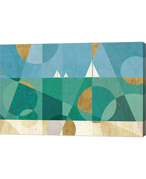 """Metaverse Seascape I by Veronique Charron Canvas Art, 30"""" x 20"""""""