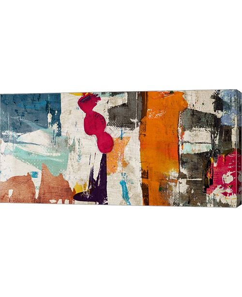 "Metaverse Colors Royale by Anne Munson Canvas Art, 32"" x 16"""