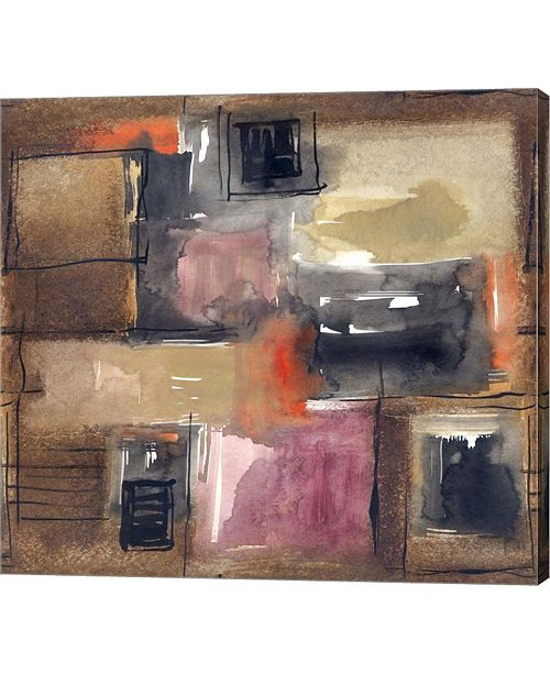 """Metaverse Rectangles by Stessi Canvas Art, 26"""" x 24"""""""