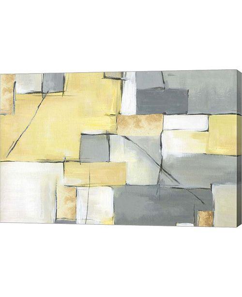 "Metaverse Golden Abstract III by Eva Watts Canvas Art, 30"" x 20"""
