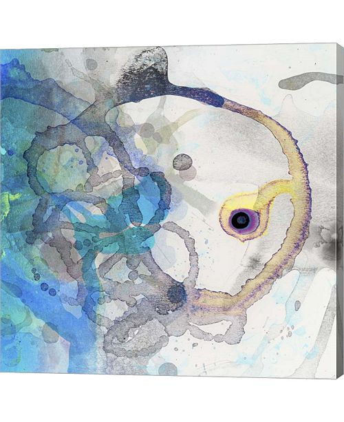 """Metaverse Watercolor Abstract II by Posters International Studio Canvas Art, 24"""" x 24"""""""