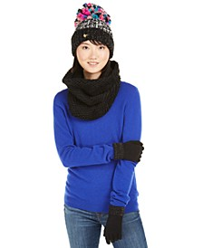 3-Pc. Funshine Gloves, Hat & Scarf Set