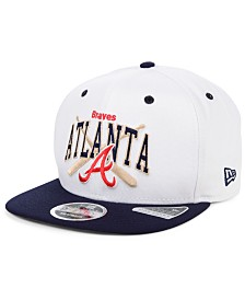 New Era Atlanta Braves Retro Bats 9FIFTY Cap