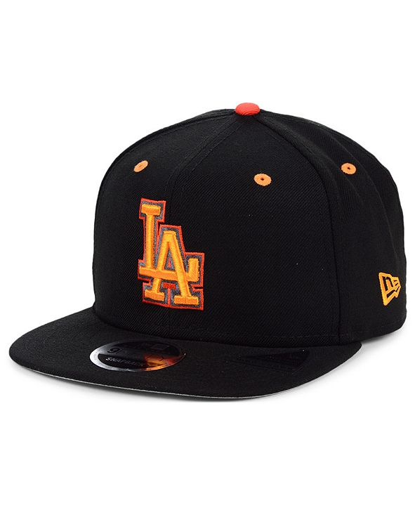 New Era Los Angeles Dodgers Orange Pop 9FIFTY Cap